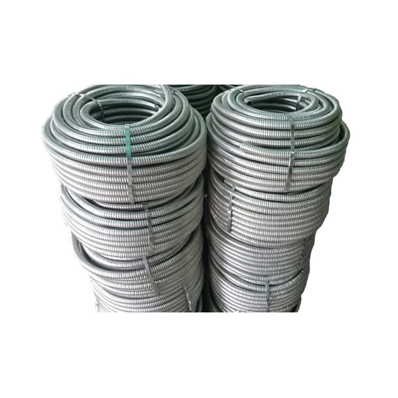 Tubo flexible metal forro pvc pesado de 3 4 for Tubo de pvc flexible